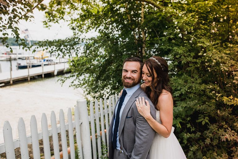 Wedding photo at Wolfeboro Inn,