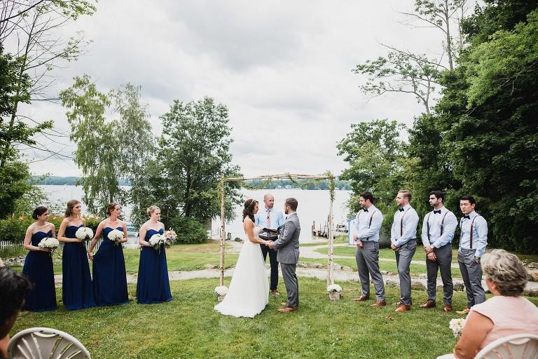 Wedding At Wolfeboro Inn